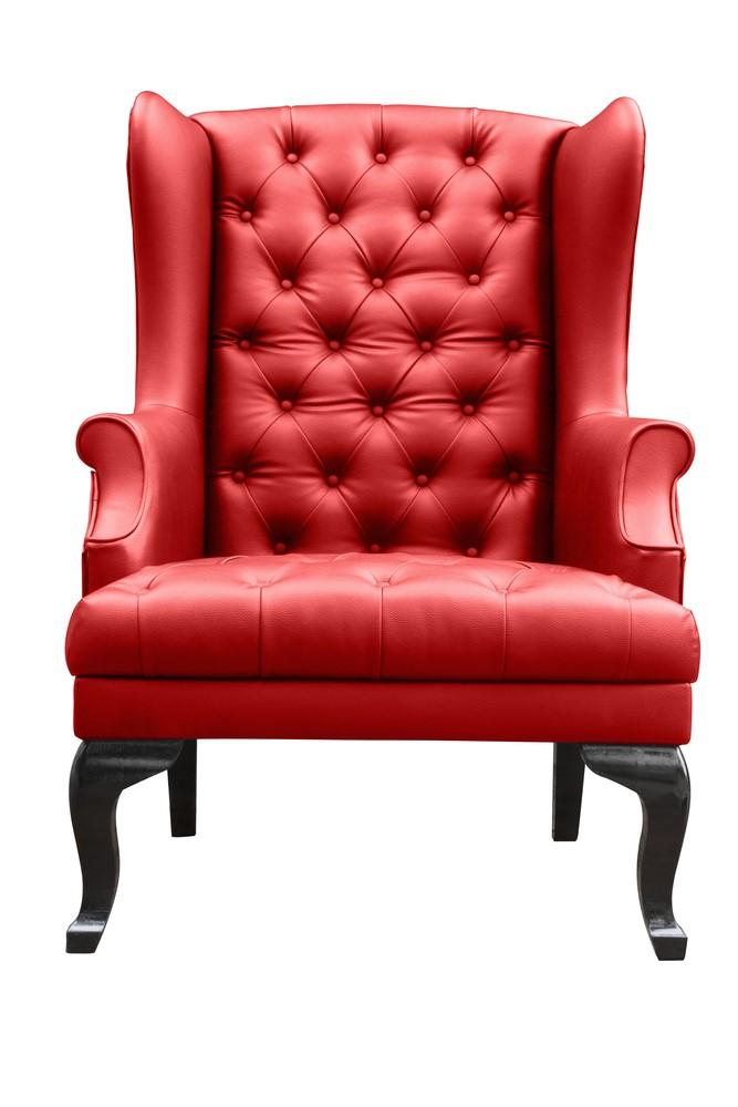 A Georgian Era chair: the bigger the better.