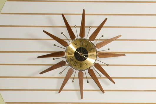 The Mid Century Clock