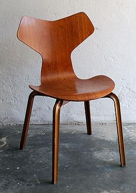 Arne Jacobsen's Ant Chair relied on new technology to bend wood.