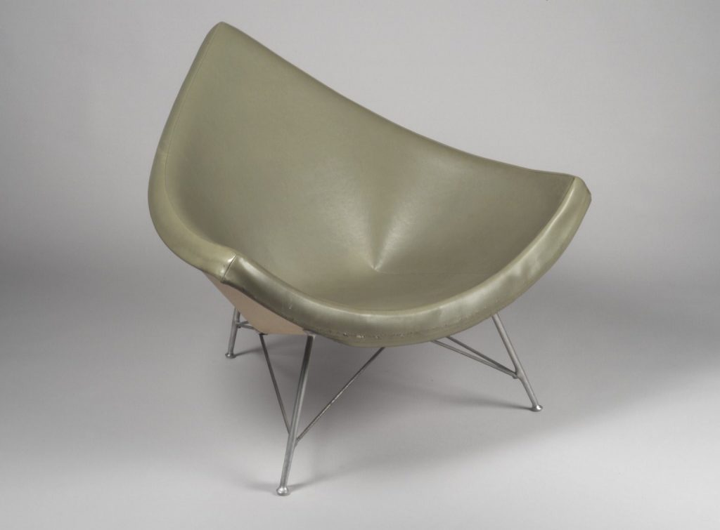 George Nelson's Coconut Chair remains a Mid Century Modern icon.
