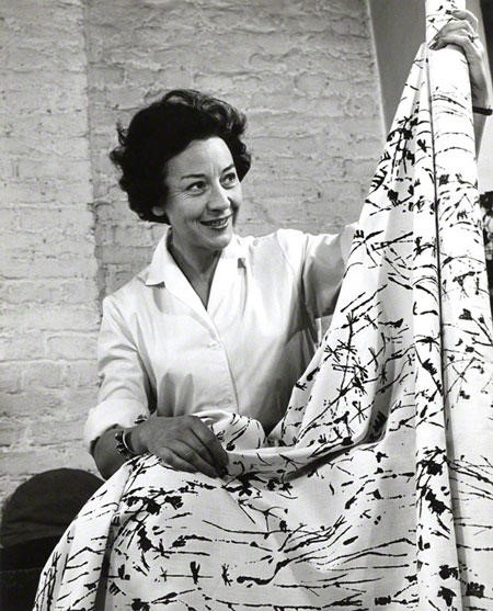 Lucienne Day claimed painter Kandinsky influenced her designs. Image via wordpress.com