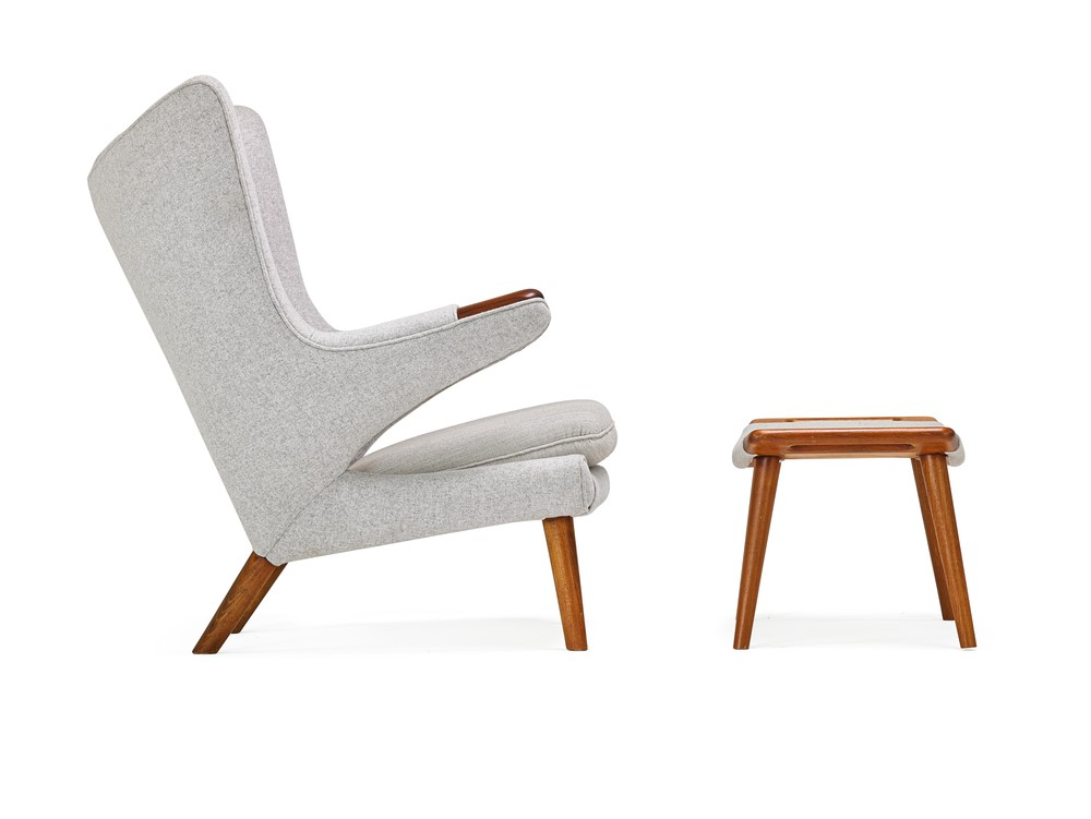 For the Mid Century Modern furniture designers, if part of a chair or table wasn't needed, it was discarded.